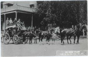 RP Six Horse Stages Jacksonville Oregon OR