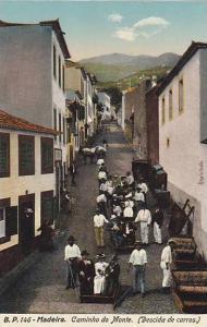 2- Caminho Do Monte (Descida De Carros), Madeira, Portugal, 1900-1910s