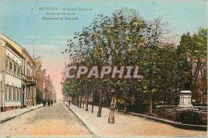 Old Postcard Neustadt Bismarck Statue