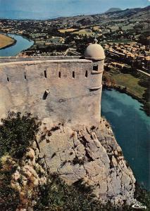 France Sisteron La guerite du Diable General view River