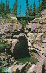 Canada Maligne Canyon Jasper Alberta