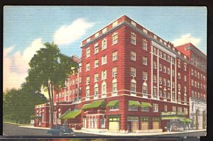 USA Postcard Hotel Burritt New Britain Connecticut