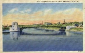 Ruby Street Bridge - Joliet, Illinois IL