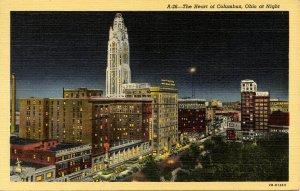 OH - Columbus. City at Night
