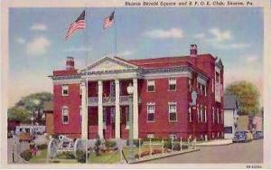PA Sharon Elks Club & Herald Square
