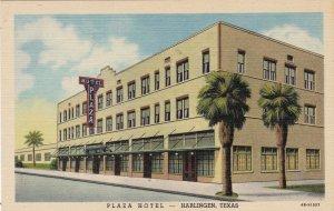 Texas Harlingen Plaza Hotel Curteich sk4943
