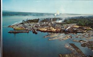 Campbell River, Elk Falls Co. Pulp, Paper and Lumber Complex, CAMPBELL RIVER,...