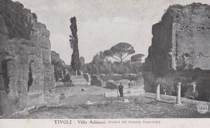 Tivoli Villla Adriana Imperial Palace Italy Italian Antique Postcard