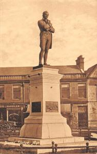 Ayrshire Burns Statue Monument Street Shops