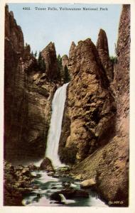 WY - Yellowstone National Park. Tower Falls