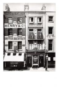 London Postcard Romano's Restaurant, The Strand 1885 by English Heritage