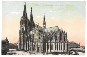 Germany Koln Dom Sudseite Cologne Cathedral Vintage Postcard