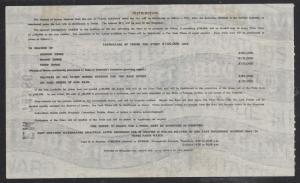 1937 Irish Sweepstakes Ticket - 1937 - 10 Shillings