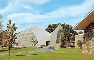 Stamford Connecticut~First Presbyterian Church~Fish Floor Plan~1950s Cars PC