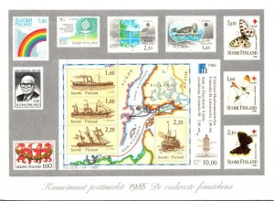 Stamps Of Finland 1986