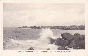 Massachusetts Rockport Surf At Rockport Albertype