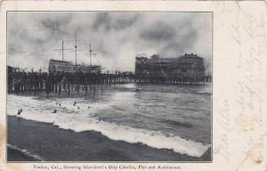 Showing Marchetti's Ship Cabrillio, Pier and Auditorium, Venice, California, ...