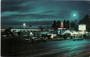 Postcard CA Oxnard Smith's Colonial House Restaurant Pacific Coast Highway G01