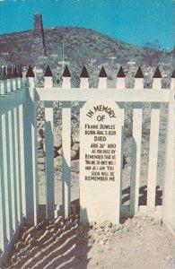 Arizona Tombstone Grave Of Frank Bowles