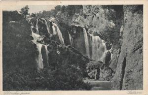Waterfalls, Sastavci, Plitvička Jezera, Croatia, PU-1922