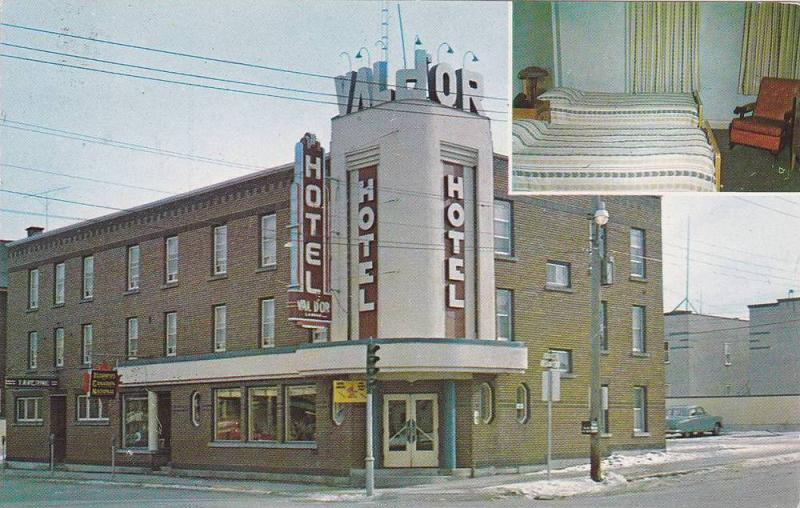 Val d'Or Hotel , VAL D'OR , Quebec , Quebec , Canada , 50-60s