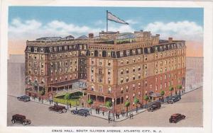 Craig Hall, South Illinois Avenue, Atlantic City, New Jersey, 1930-1940s