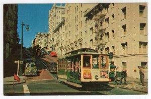 San Francisco, The Famous Cable Car
