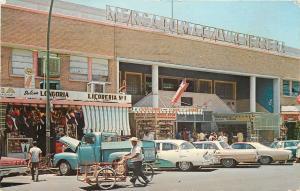 Nuevo Laredo Mexico~Market Place~Mercado Maclovio Herrera~NICE 1950-60s Cars~PC