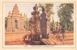 Bali Indonesia, Republik Indonesia Dorpstempel teS Singaradja Bali Dorpstempe...