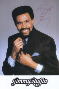 Jimmy Ruffin of The Temptations Motown Soul Singer Official Hand Signed Photo