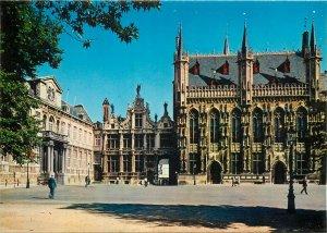 Postcard Belgium Brugge Hotel du Ville