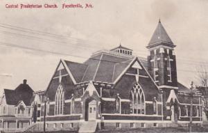 Arkansas Fayetteville Central Prebyterian Church 1912