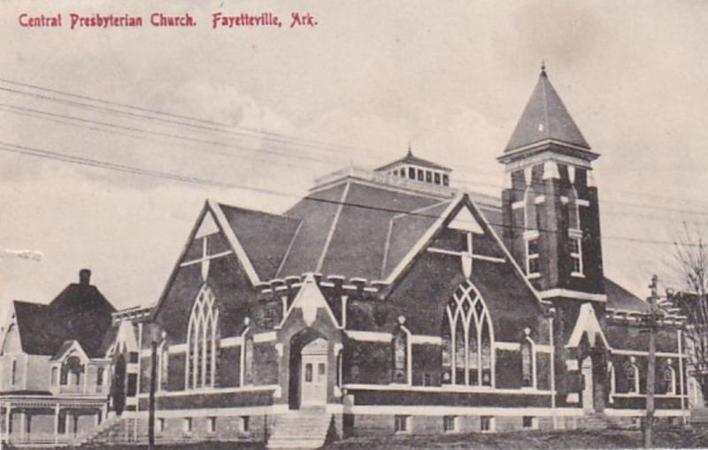 Arkansas Fayetteville Central Prebyterian Church 1912