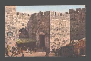 079864 Jerusalem Jaffa Gateway market Vintage Photoglob PC