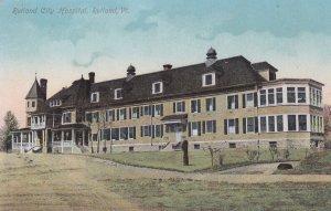 RUTLAND, Vermont, 1900-10s; Rutland City Hospital