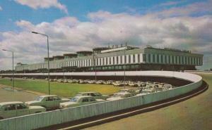 The Pulkovo Russian Airport 1973  Leningrad 1980s New Postcard