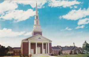 Snyder Memorial Baptist Church, Fayetteville, North Carolina, 40-60s