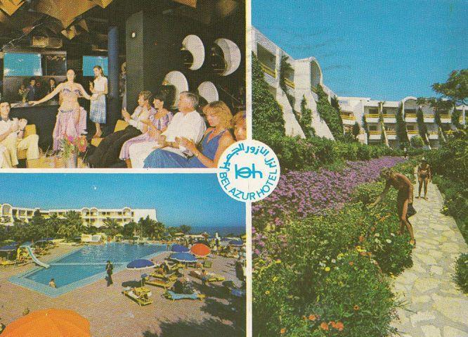 Hotel Bel Azur Tunisia Postcard