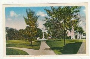 Scene showing Sun Dial,Princeton,New Jersey,10-20