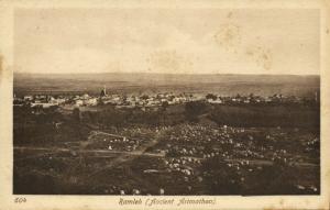 israel palestine, RAMLEH RAMLA, Ancient Arimathea (1920s) Sarrafian Postcard