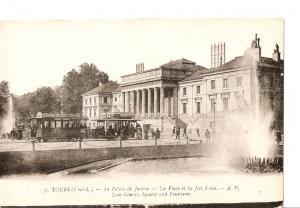 Postal 027708 : Tours - Le Palais de Justice