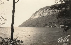 RP: WESTMORE , Vermont ,  1930-40s ; Mt.  Pisgah and Lake Willoughby