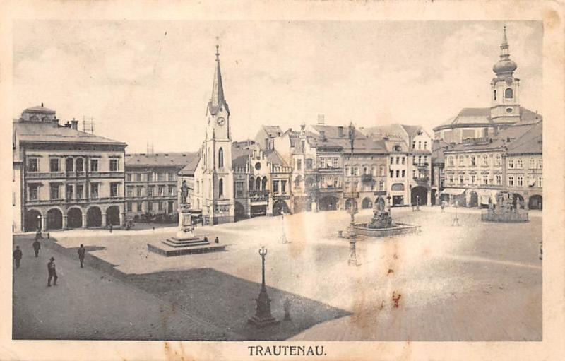 Czech R. Trautenau Trutnov, Krakonosovo Square 1916