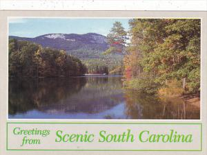 Greetings From Scenic South Carolina Table Rock Mountain Pickens County