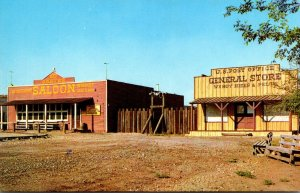 Texas Rimrock City Red Garter Saloon and General Store