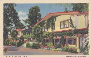 Street View, Santa Maria Inn, on the Mission Trail, Santa Maria California 19...