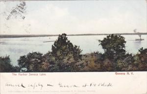 New York Geneva The Harbor Seneca Lake 1909