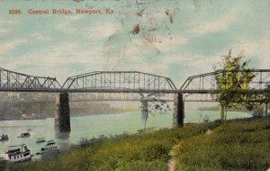 NEWPORT , Kentucky , 1900-10s ; Central Bridge