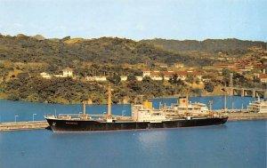 Leaving Miraflores Locks Panama Canal Panama Tape on back