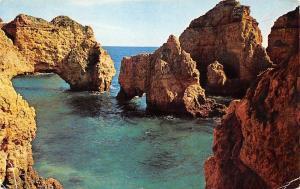 Portugal Algarve Lagos Ponta da Piedade - Rocks and ladie's Shoe